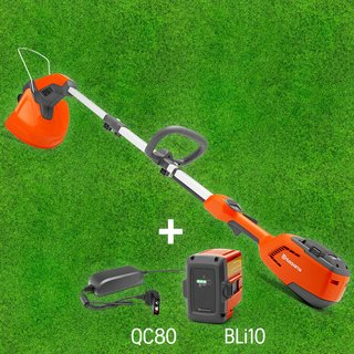Husqvarna AKKU Trimmer-Set 115iL inkl. BLi10 + QC80